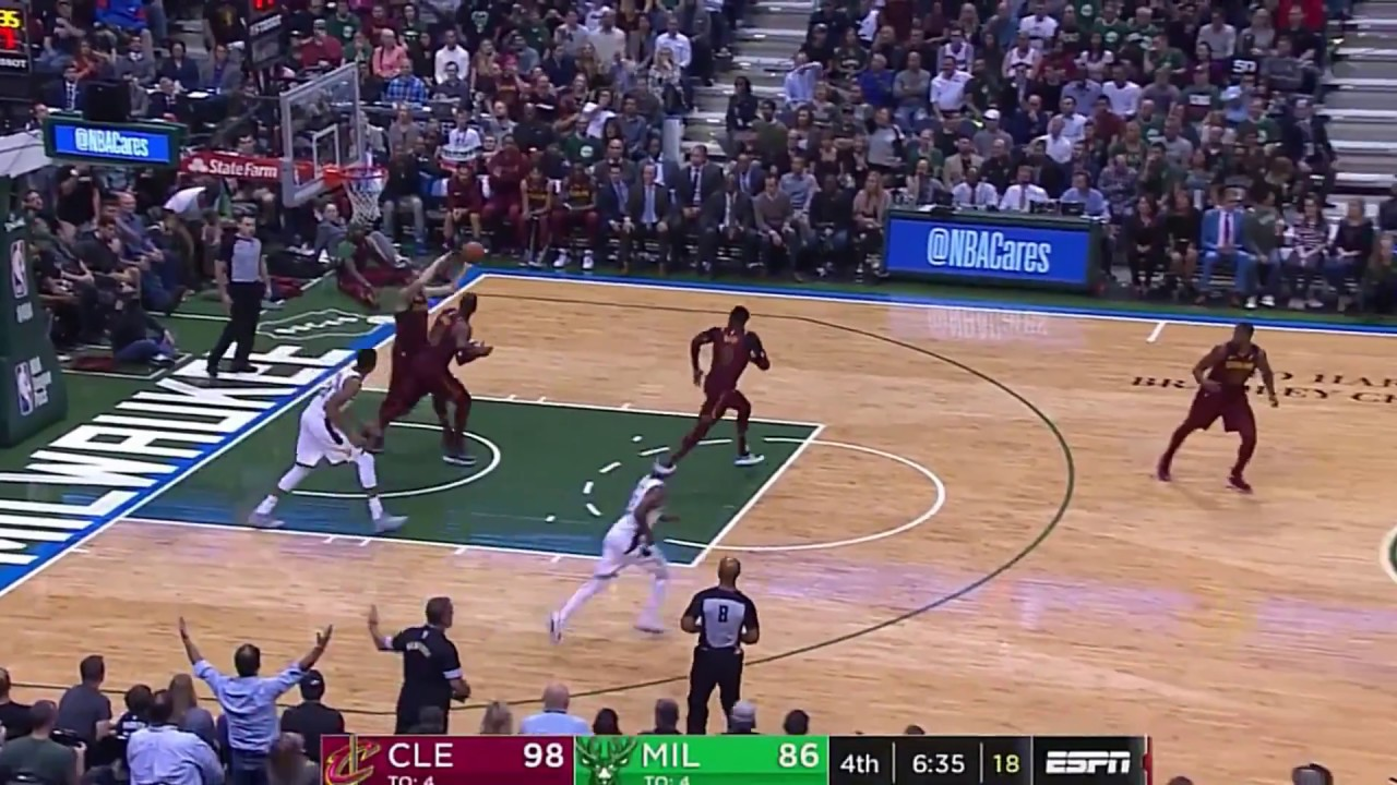 LeBron James shows Antetokounmpo why he's The King