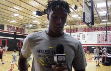 Myles Turner talks his NBA 2K18 rating, Indiana Pacers, Dallas Cowboys & more