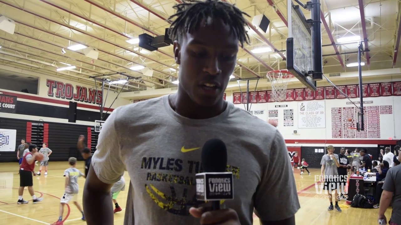 Myles Turner talks his NBA 2K18 rating, Indiana Pacers, Dallas Cowboys & more