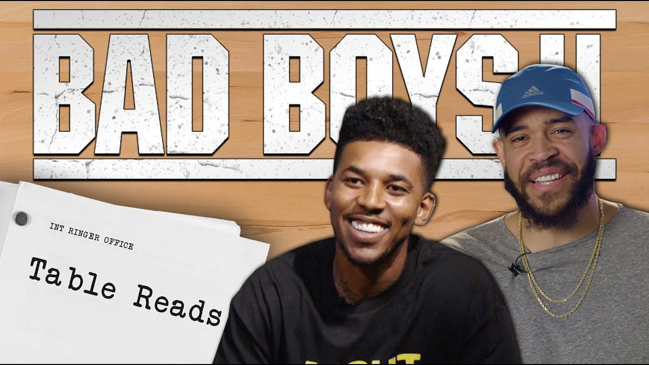 Nick Young & Javale McGee remake classic scene from Bad Boys 2