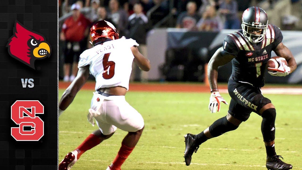 North Carolina State upsets #17 Louisville