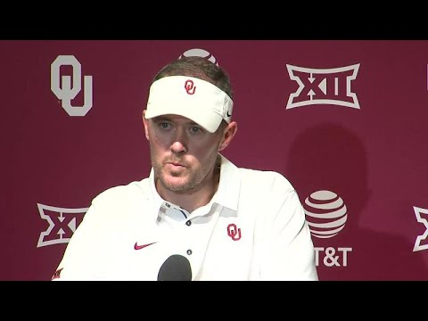 Oklahoma head coach Lincoln Riley discusses his team's heartbreaking loss to Iowa State