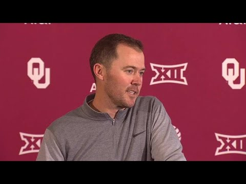Oklahoma's Lincoln Riley discusses Baker Mayfield usage, questionable play calls