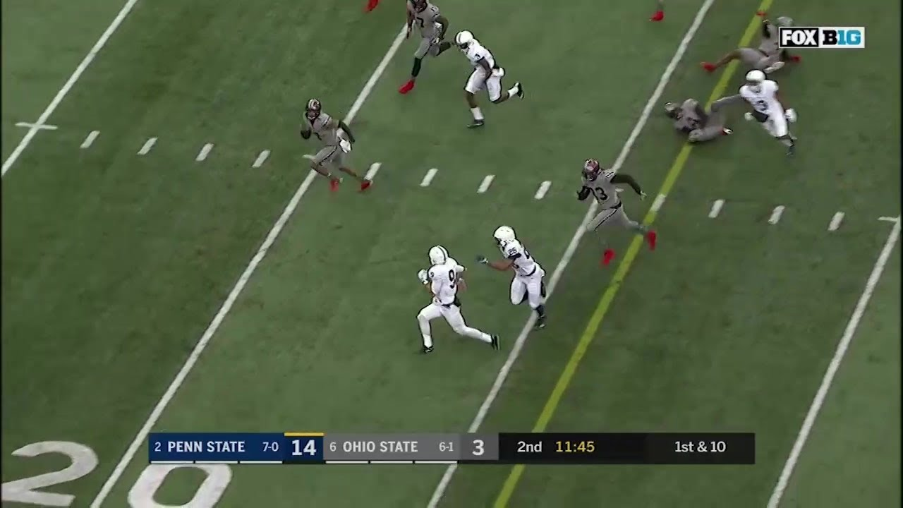 Saquon Barkley runs through Buckeyes defense for 36-yard touchdown
