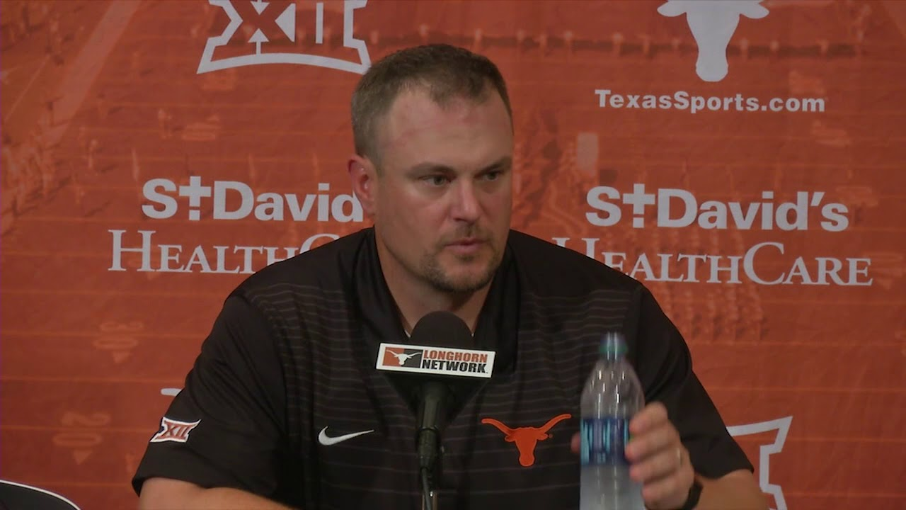 Tom Herman discusses Longhorns' OT loss to Oklahoma State