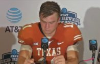 Tom Herman discusses Texas' disappointing Red River Shootout loss