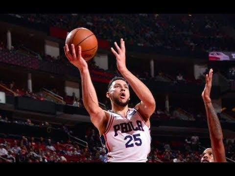 Ben Simmons and Joel Embiid launch the Sixers past the Rockets