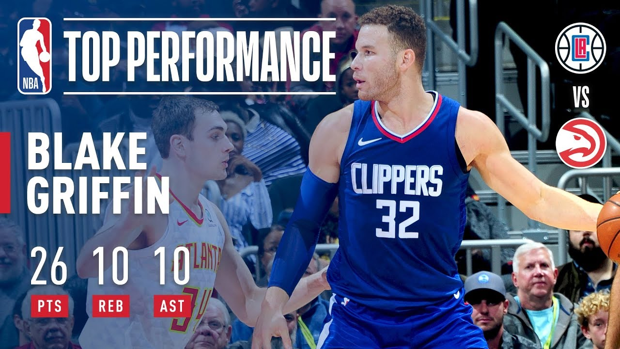 Blake Griffin grabs triple-double as Clippers snap losing streak
