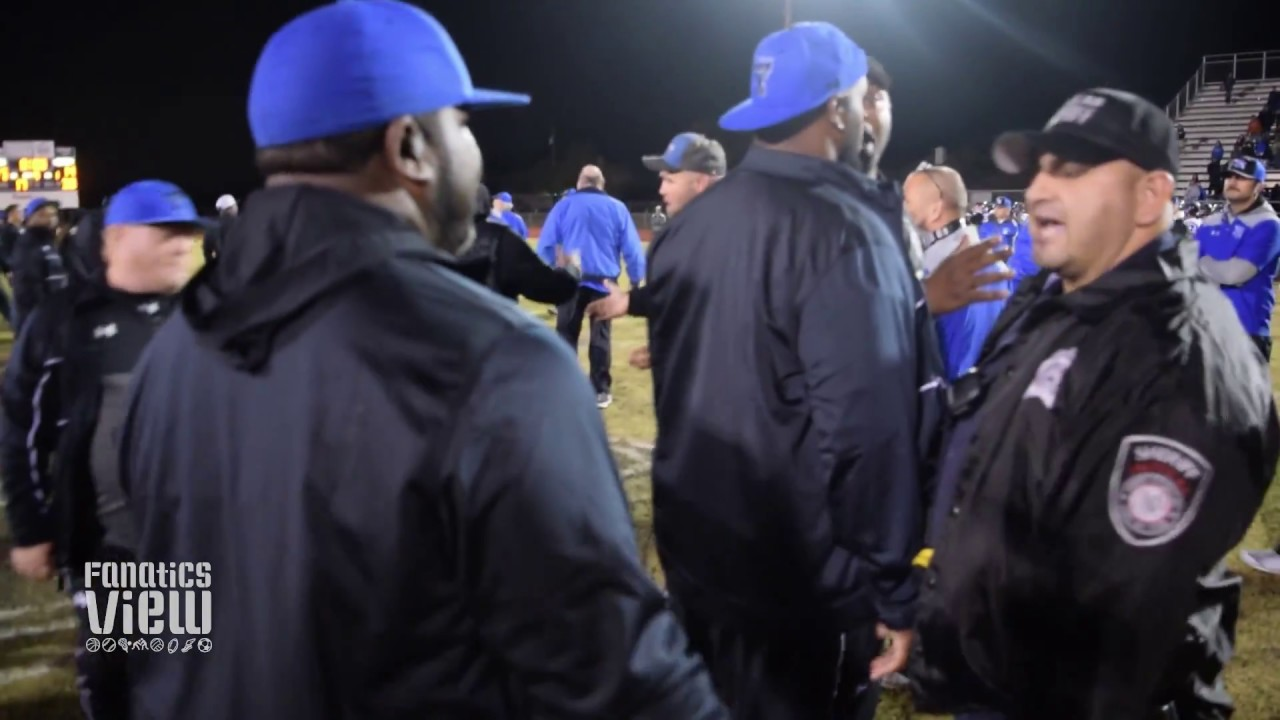 Deion Sanders & TCCH Coaches have heated words with Dallas Christian