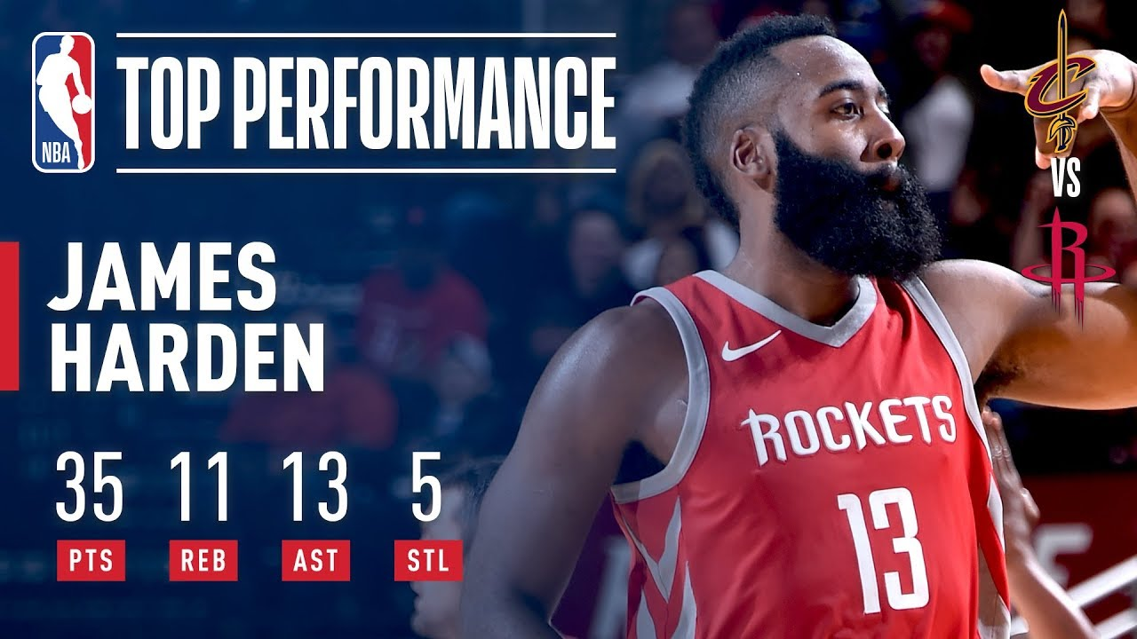 James Harden's triple double too much for Cavs