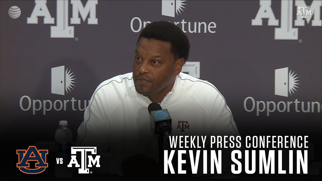 Kevin Sumlin previews Texas A&M vs. Auburn