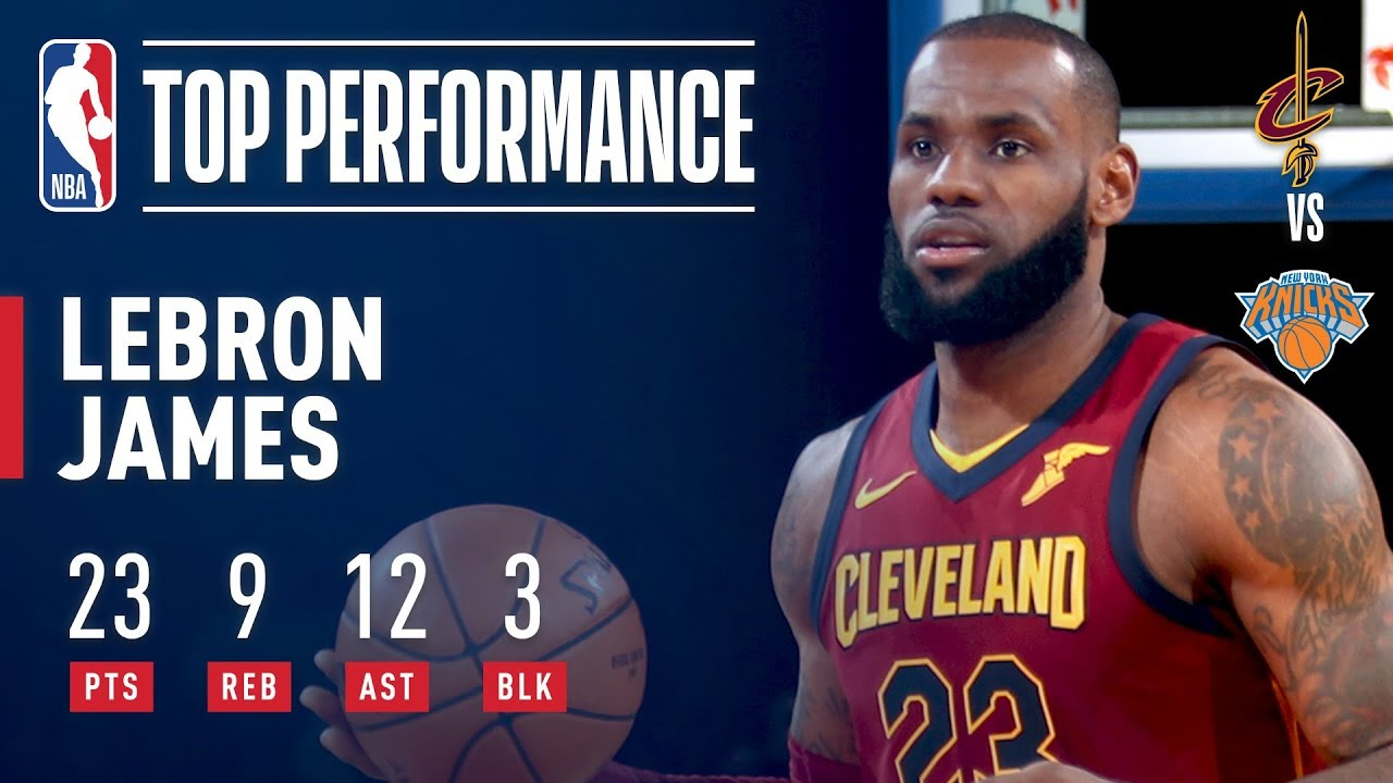 LeBron James reigns supreme in New York