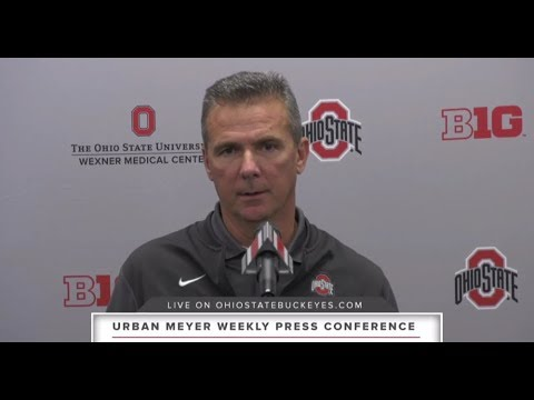 Urban Meyer discusses Michigan State & falling to Iowa State in Week 10