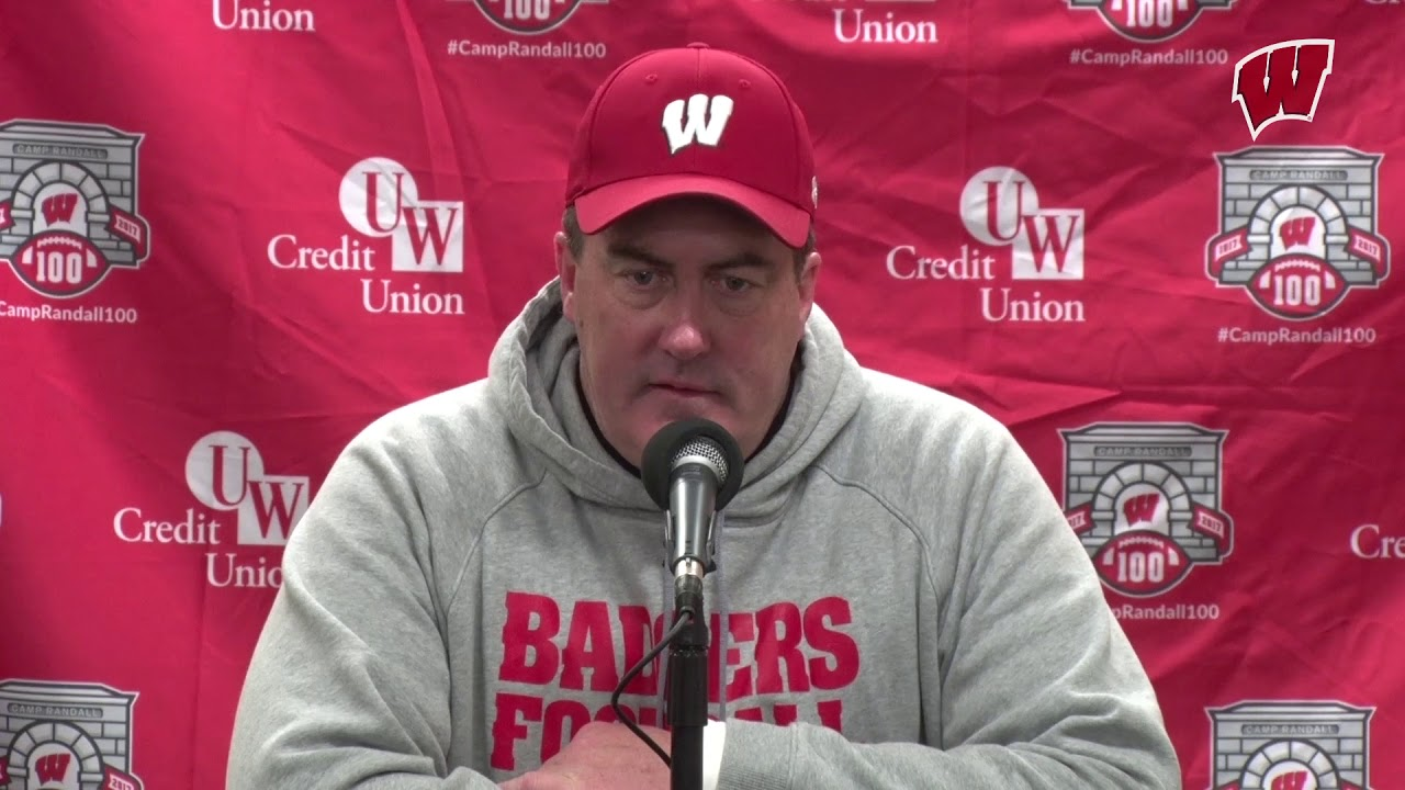 Wisconsin football coach Paul Chryst sends message to College Football world: