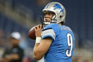 Matthew Stafford launches pass to Marvin Jones on an incredible play