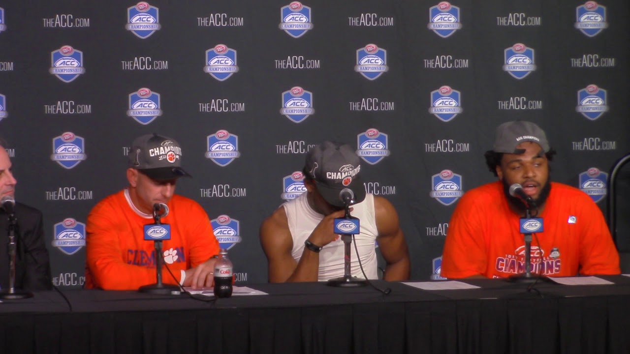 Dabo Swinney addresses Clemson's ACC Championship win over Miami