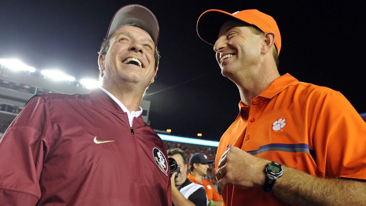 Dabo Swinney voices his opinion of Jimbo Fisher leaving Florida State