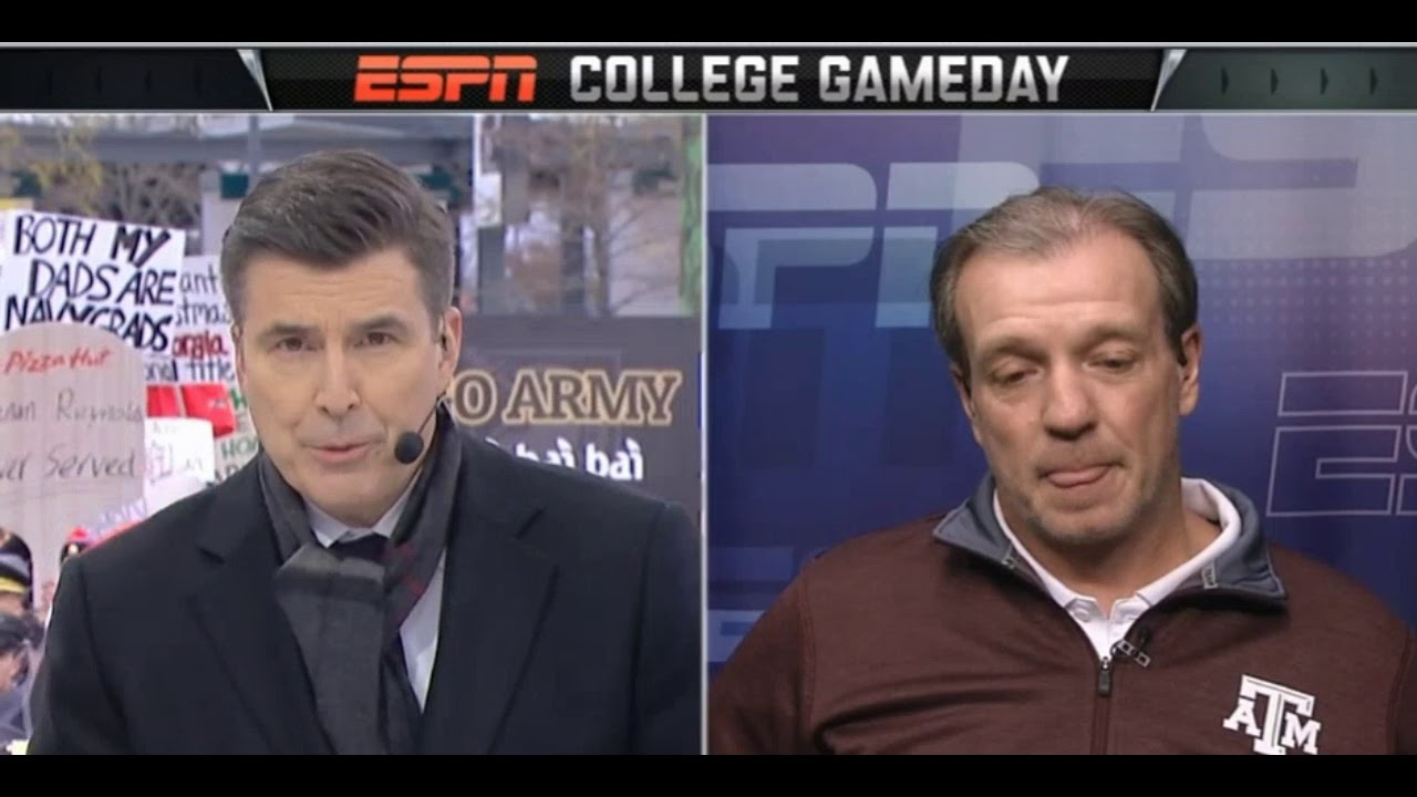 Jimbo Fisher discusses Texas A&M on College Gameday