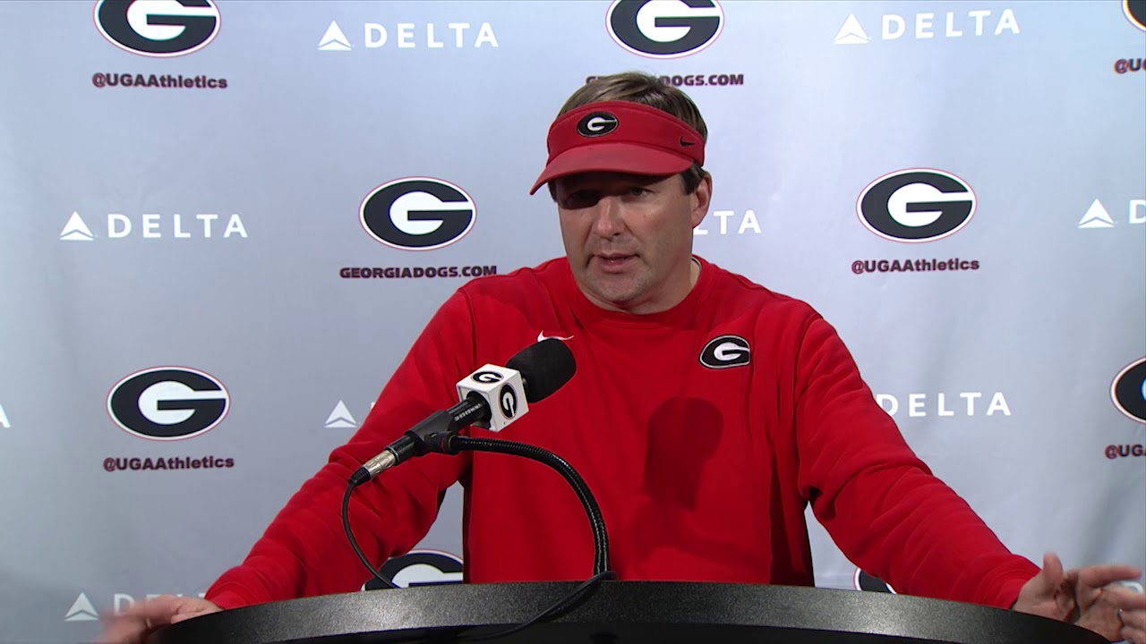 Kirby Smart addresses the media regarding Georgia's 2018 recruiting class