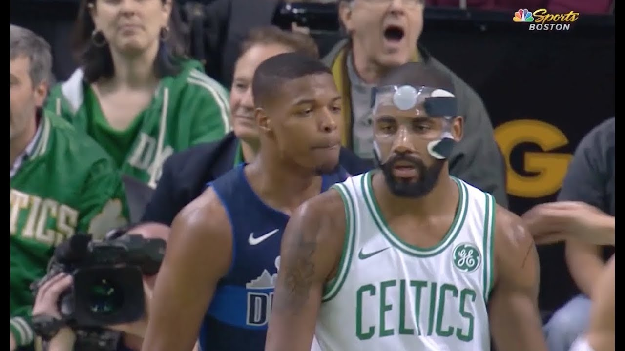 Kyrie Irving and Dennis Smith Jr. get into scuffle in Dallas