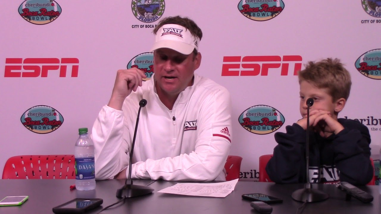 Lane Kiffin following FAU's Boca Raton Bowl blowout: