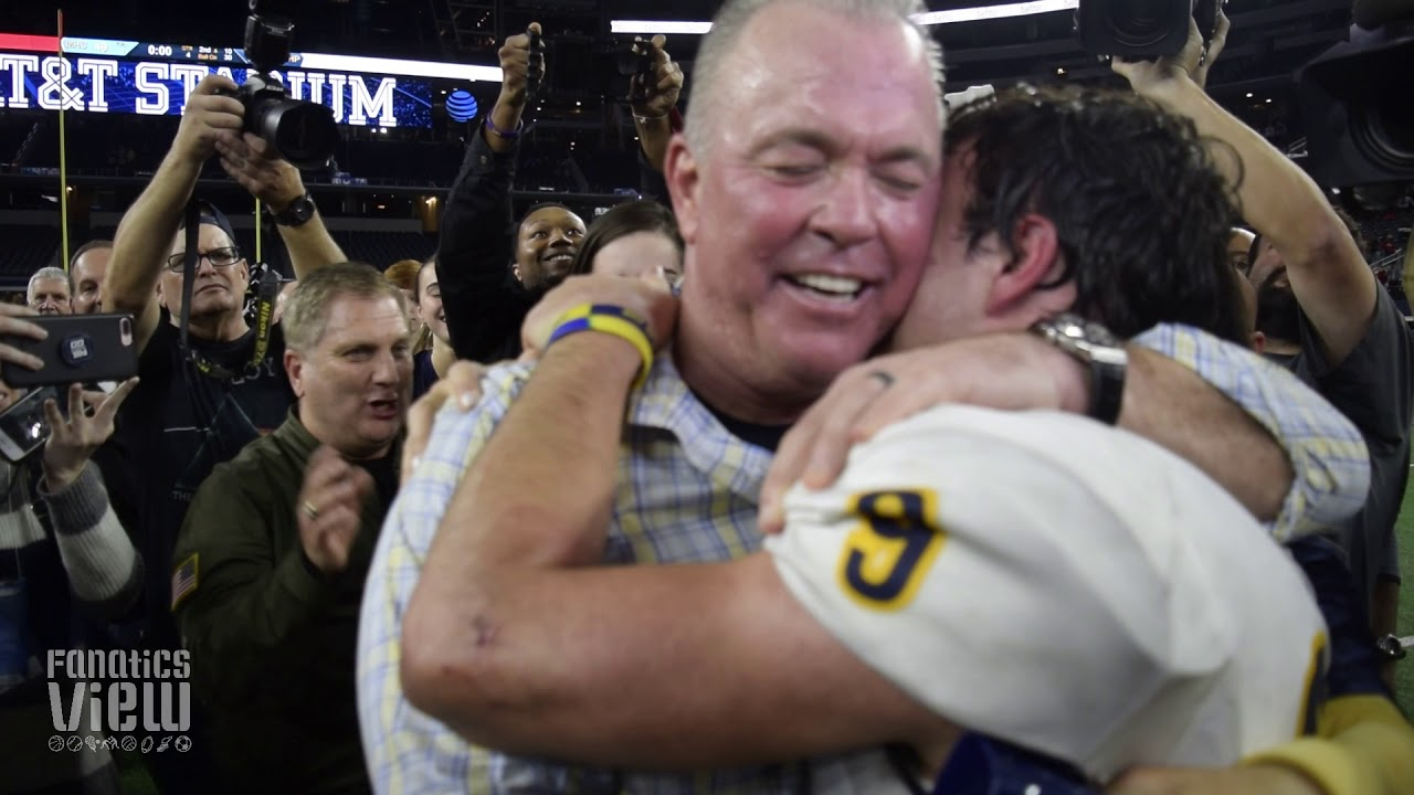 Stephen Jones & John Stephen Jones share emotional Championship moment