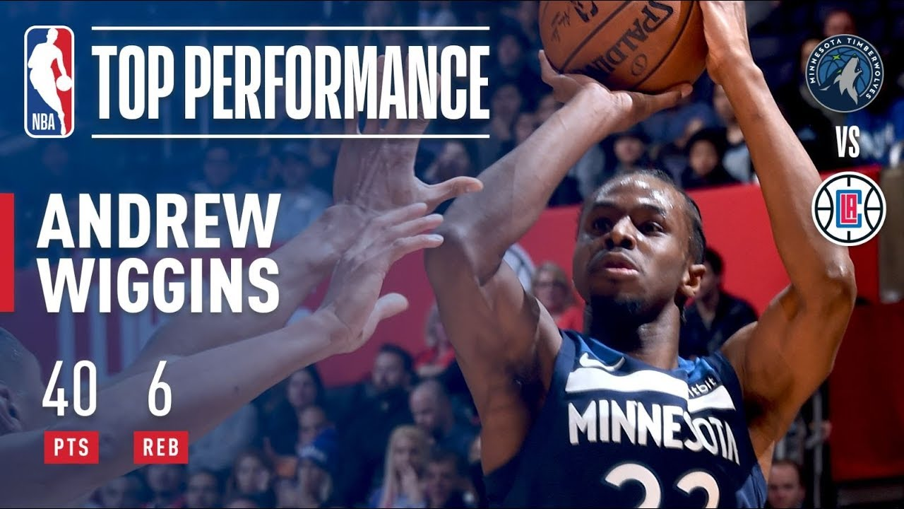 Andrew Wiggins explodes for 40 in Jimmy Butler's absence