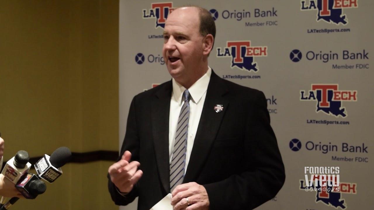 Louisiana Tech head coach Skip Holtz talks LA Tech Bulldogs 2018 signing class