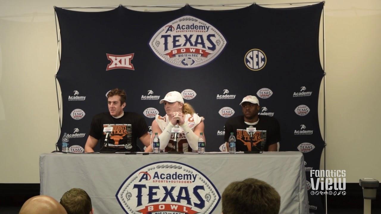 Michael Dickson, Breckyn Hager & Daniel Young speak on Texas' season