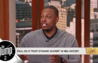 "Paul Pierce calls Kevin Durant ""probably"" the most elite scorer in NBA history"