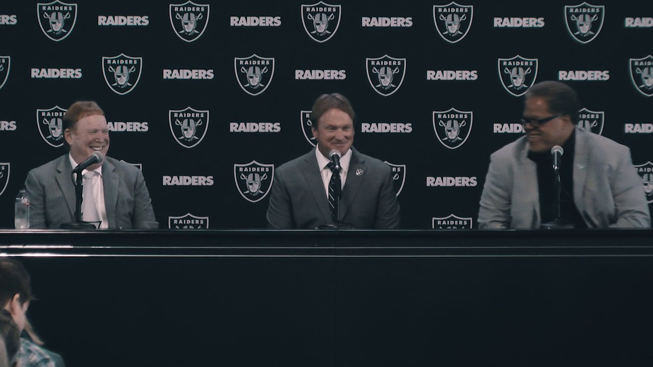 Raiders introduce Jon Gruden as head football coach (Full Press Conference)