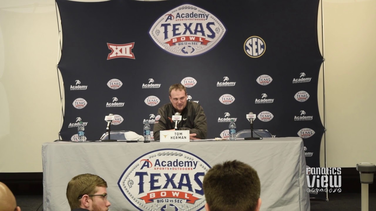 Tom Herman discusses Texas' victory over Missouri in the Texas Bowl
