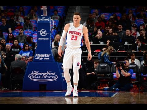 Blake Griffin shines in his Detroit Pistons debut