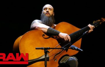 Braun Strowman smashes Elias with a bass guitar after a hilarious musical performance