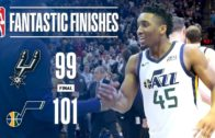 Donovan Mitchell's 25 points rally the Jazz past San Antonio