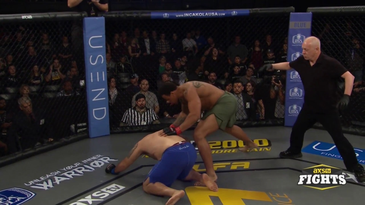 Greg Hardy with an impressive 14 second KO at his LFA debut in Dallas