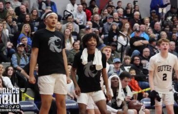 Jalen Wilson and De'Vion Harmon lead Denton Guyer to blowout playoff win