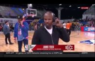 Jamie Foxx walks off SportsCenter interview when asked about Katie Holmes