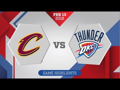 LeBron James' 37 Helps Cavs Defeat Thunder
