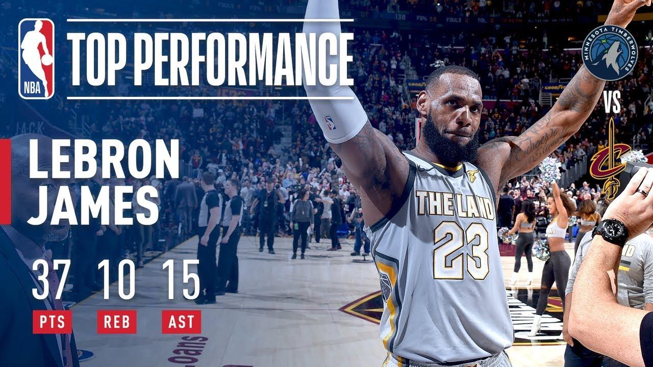 LeBron James ends huge game with overtime game-winner