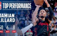 Lillard Scores 50 in 3 Quarters as Blazers Defeat The Kings