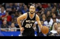 Manu Ginobili whips smooth behind-the-back pass for a crafty assist