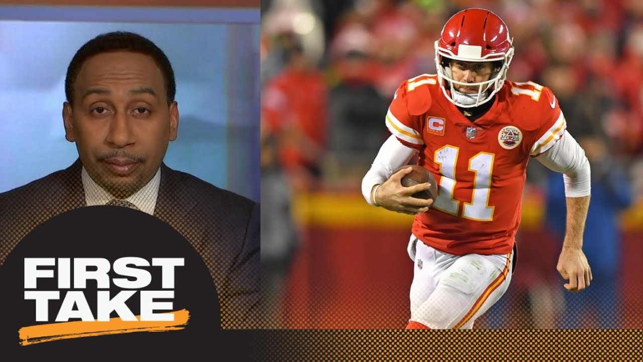 Stephen A. Smith sounds off on the Alex Smith trade