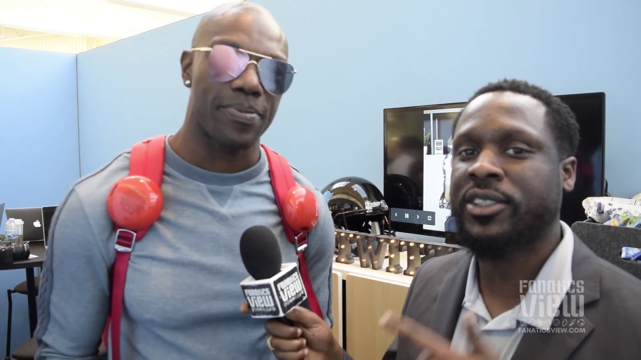 Terrell Owens sponsored by Febreze for when you