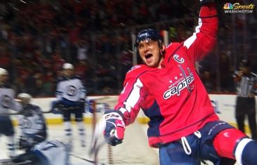 Alex Ovechkin Scores 600th Career NHL Goal