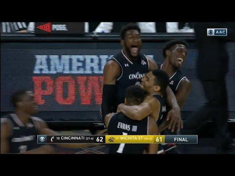 Cincinnati outlasts Wichita State in AAC Championship nail-biter
