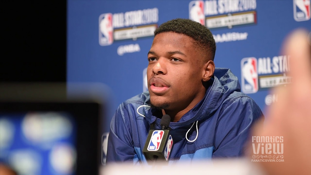 Dennis Smith Jr. talks NBA Dunk Contest & his music playlist before games