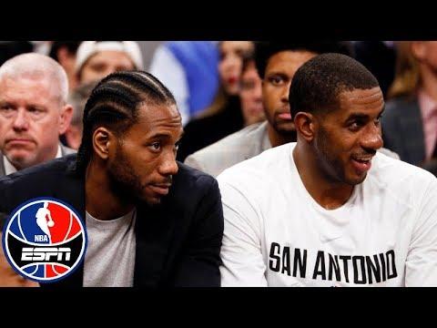 ESPN's NBA Countdown talks Kawhi Leonard's future in San Antonio