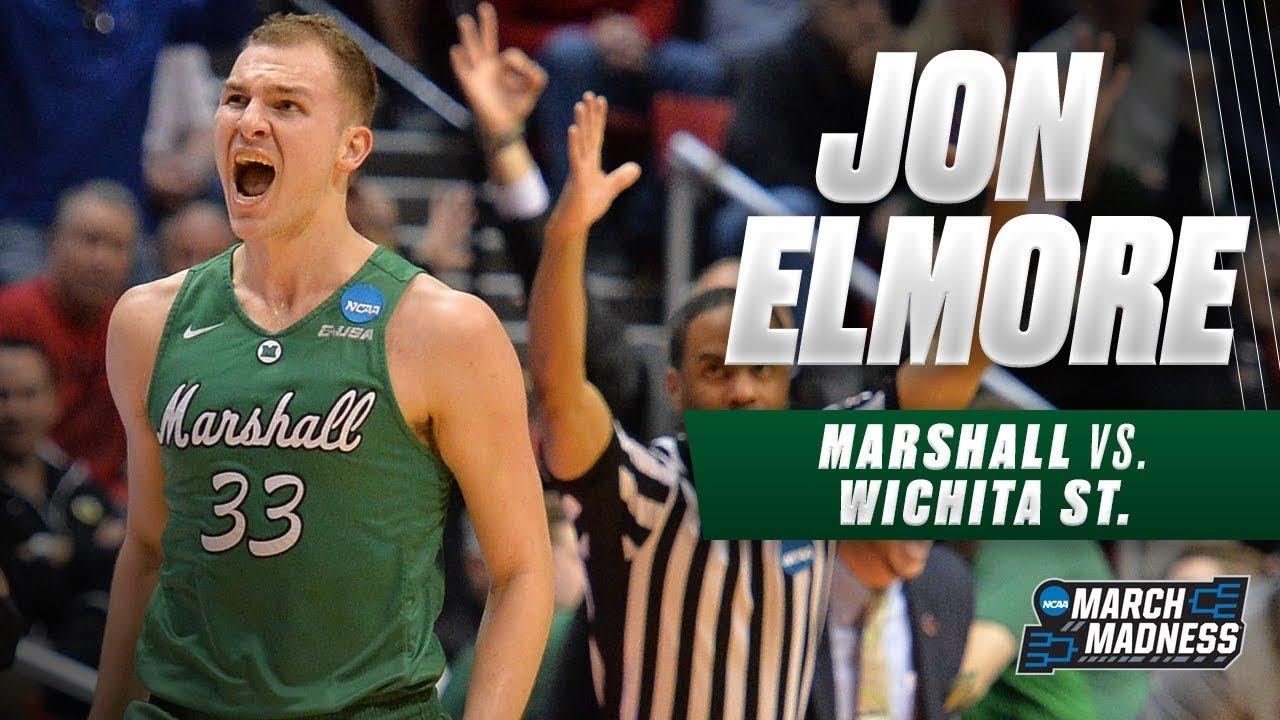 Jon Elmore leads Thundering Herd to first round upset over Wichita State