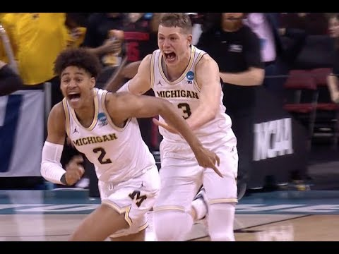 Michigan nails buzzer-beater to keep Wolverines alive in March Madness